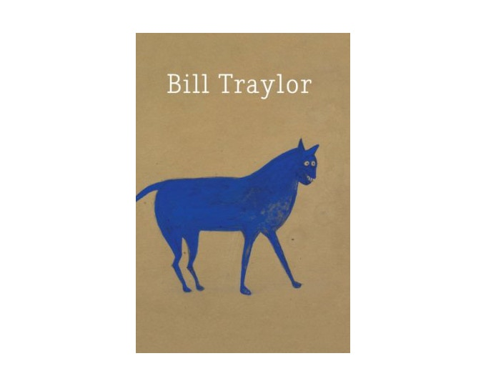 """""""Bill Traylor Postcards"""" ($350): A postcard sized book of Traylor's work, from Just Folk"""
