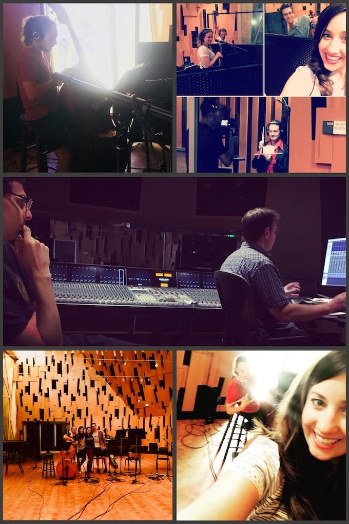 More fun in the studio with; Clayton Hamburg, Johnny Sneed, Syd Everatt, Stephen Spies & Kristen Lynn