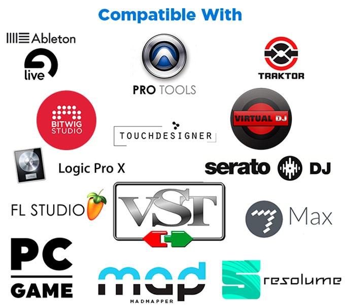 Tornado Gloves: MIDI, DJ, VJ, Vocal, Game, CAD Controller