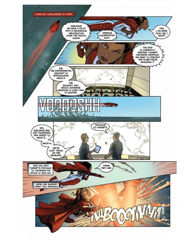 Interior Page from Vigilance #1