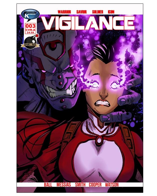Vigilance #3 CVR A