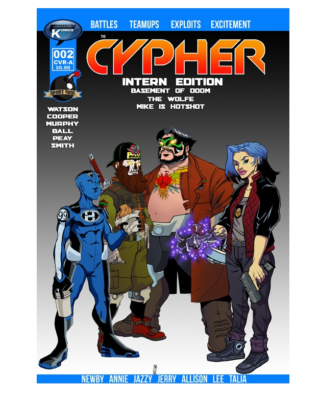 The Cypher #2 Cover Image