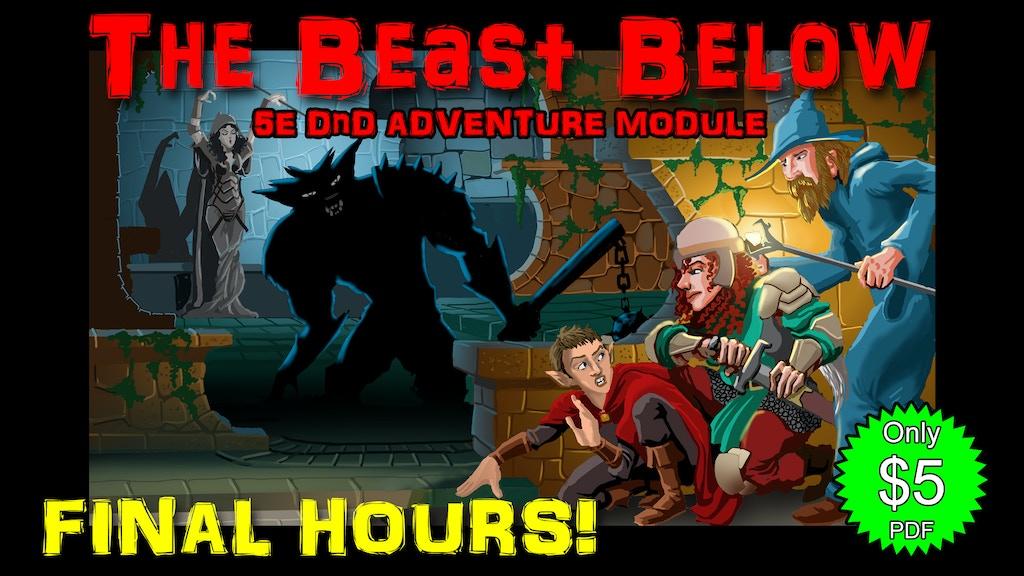 Wyrmkeep Dungeons BW3: The Beast Below, a 5e DnD Adventure project video thumbnail