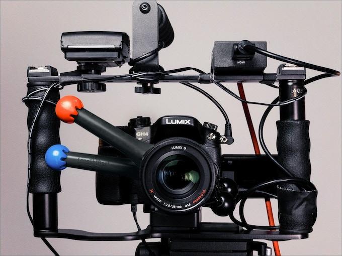 LensShifter videography setup by @photojoseph on Facebook