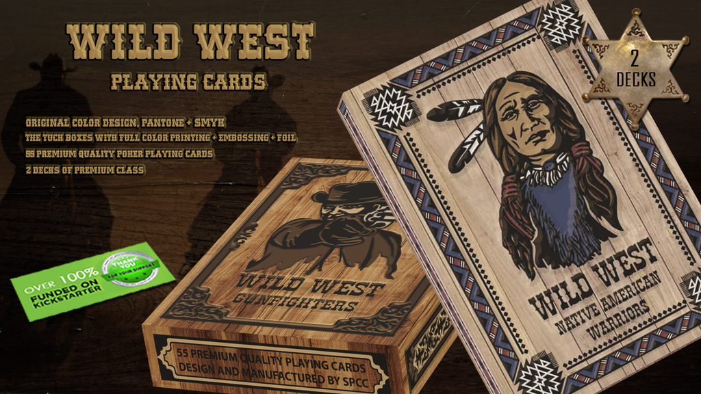 The Wild West Playing Cards project video thumbnail