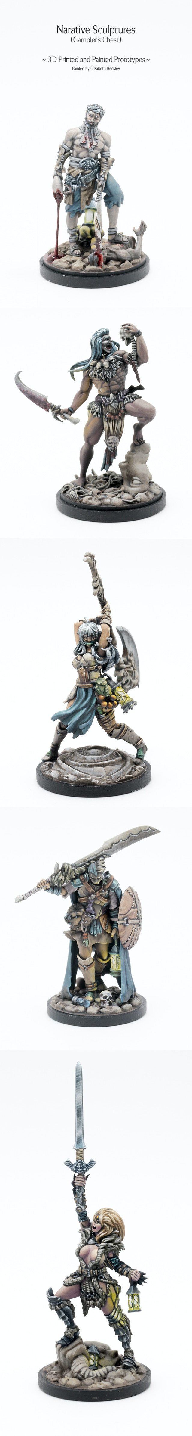 Kingdom Death Monster By Kingdom Death Kickstarter - 15 brilliantly decorated casts well worth broken bones