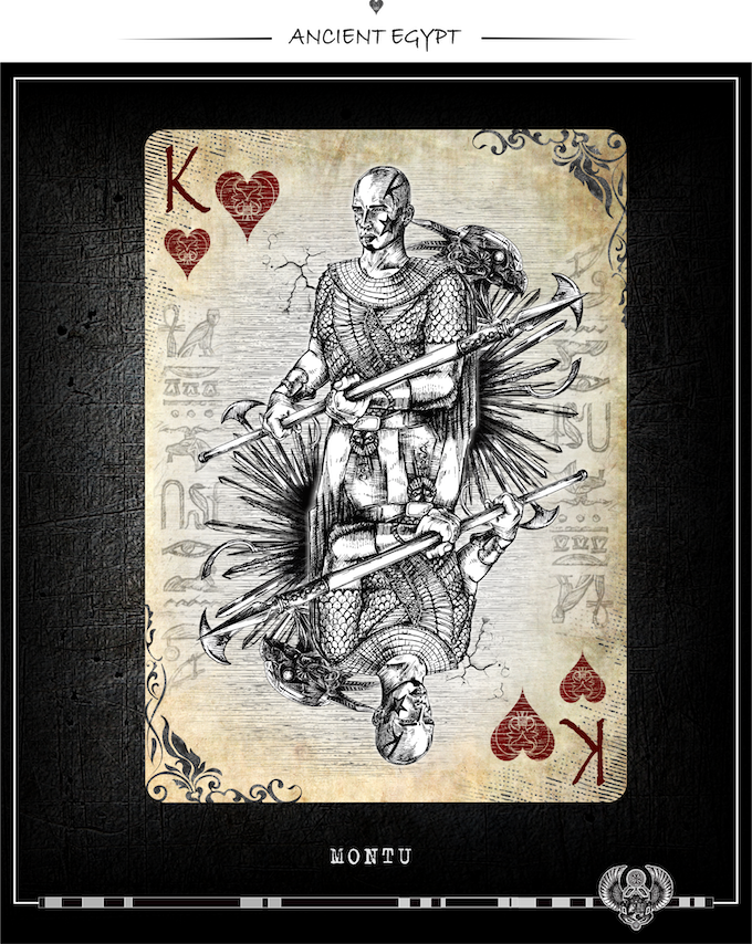 ANCIENT EGYPT - ART PLAYING CARDS by Timothy Kremer