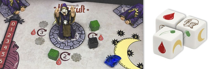 dice and board details