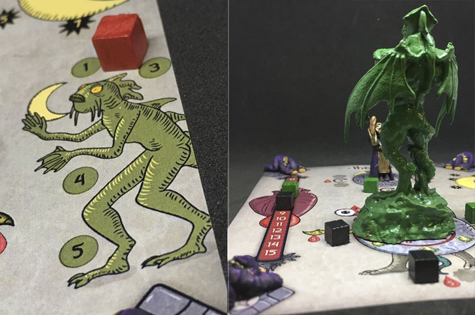 The Cult details, Deep Ones counter and Cthulhu