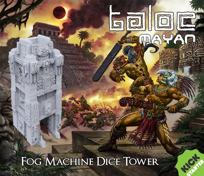 Taloc: Mayan Fog Dice Tower