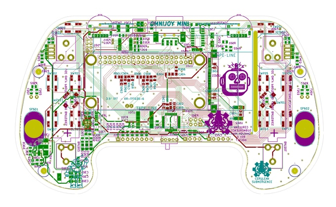 First Printed Circuit Board Design