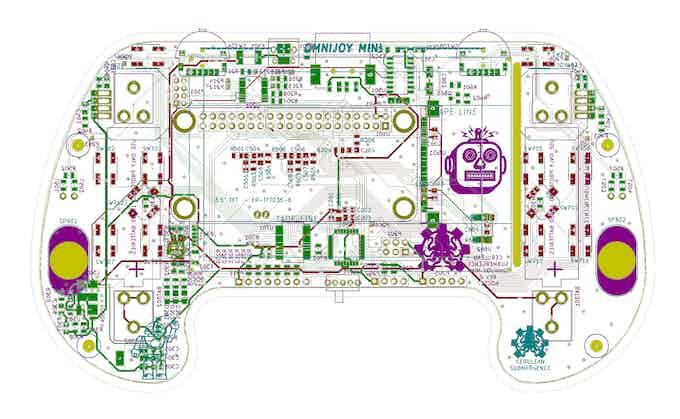 First Printed Circuit Board Design