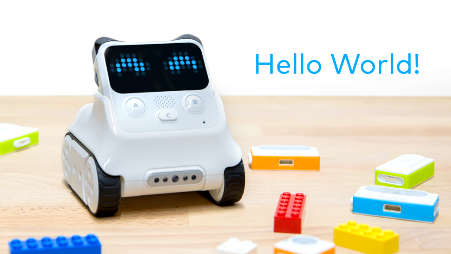 Meet the robot that helps every child learn coding and AI