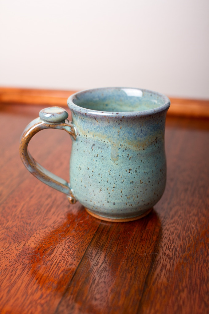 Small mug for $15 pledge.