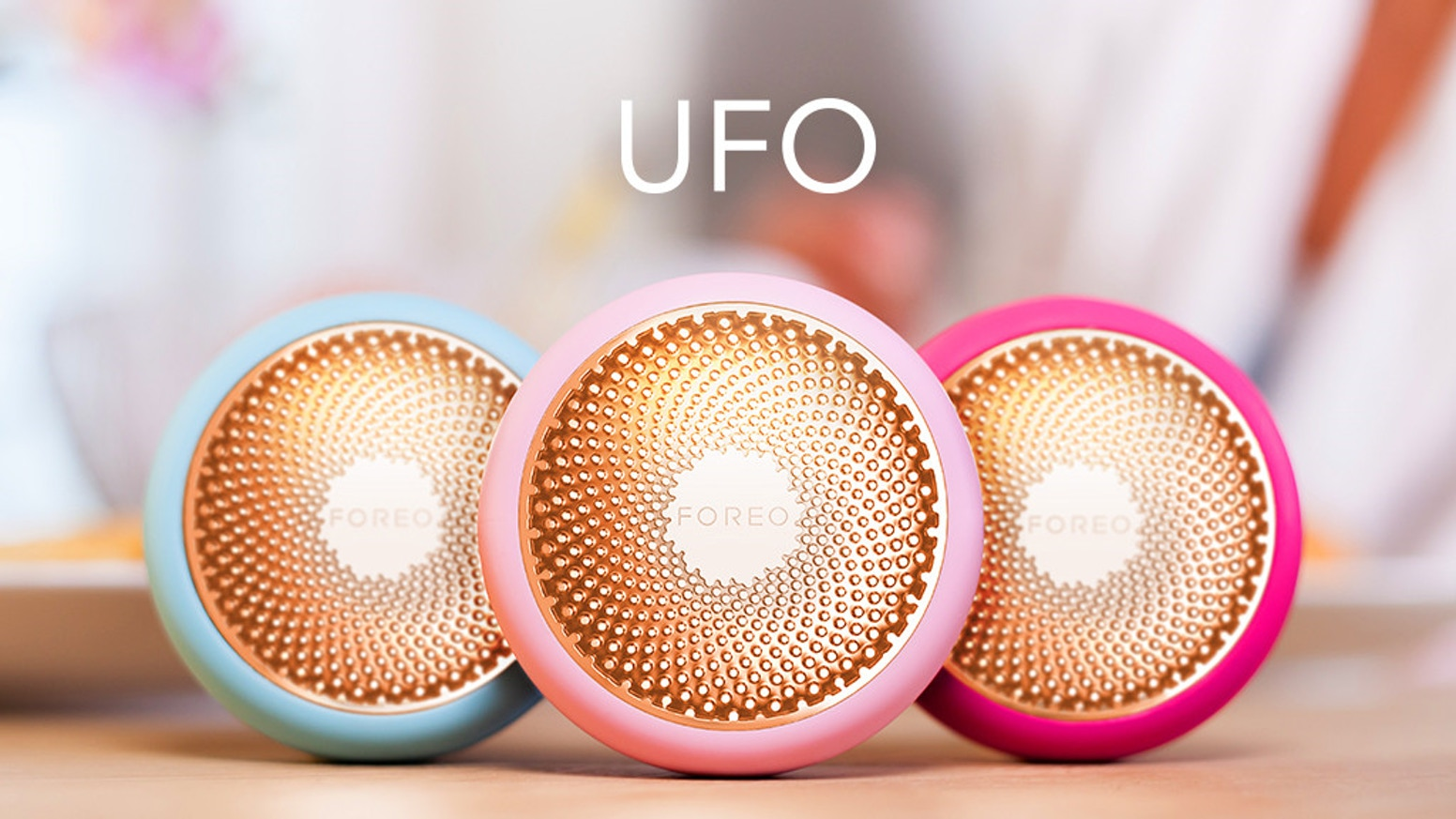 UFO combines the best of beauty and technology for a spa-worthy facial treatment in just 90 seconds.