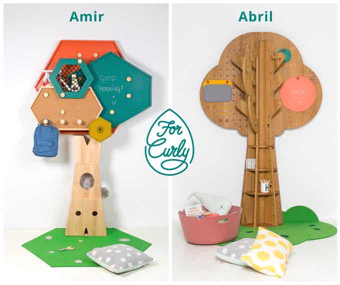 The Amir TREEE          &          The Abril TREEE