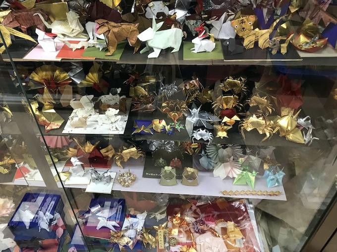Origami animals & creatures, Asakusa, Tokyo