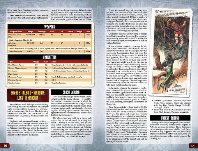 Flash Gordon™ RPG for Savage Worlds by Shane Hensley