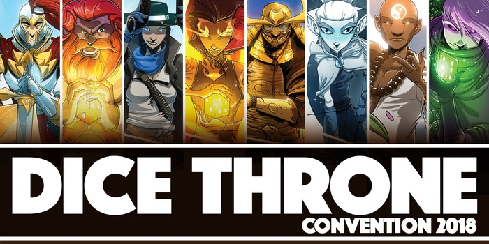 Dice Throne by Mind Bottling Games, LLC » Get your tickets