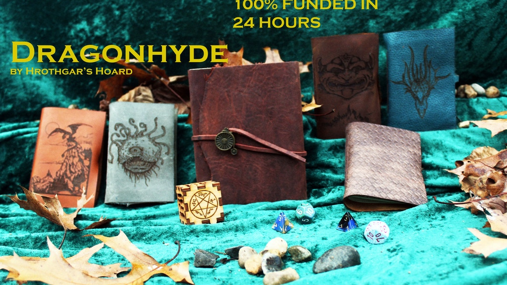 DragonHyde - Leather Spellbooks project video thumbnail