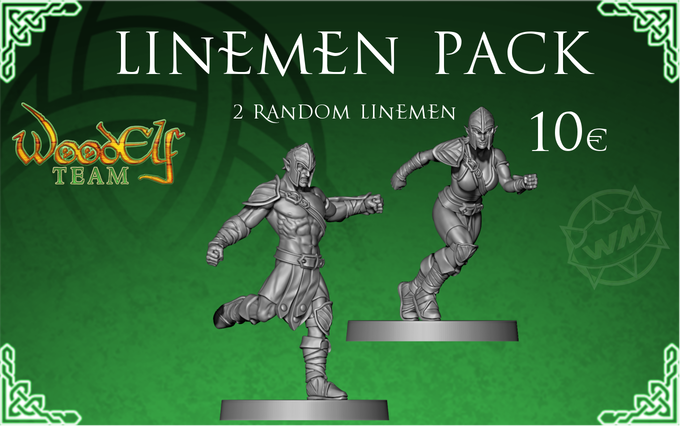 Add 2 more linemen to your team (random models) at a reduced price