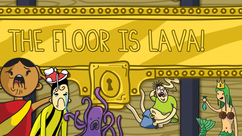 The Floor is Lava Board Game project video thumbnail