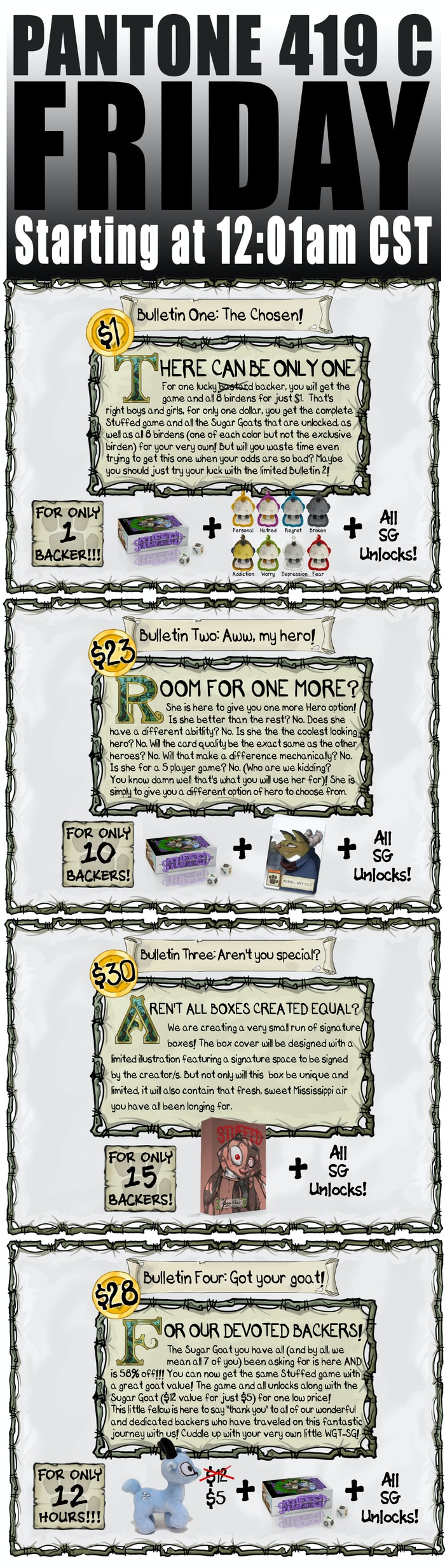 Project Updates for STUFFED on BackerKit Page 4