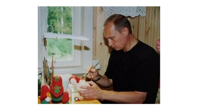 Working hard to finish the dolls! Thanks Vlad!