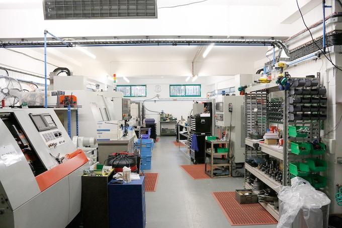 Our CNC workshop