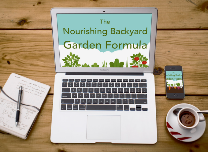 $150+ Pledges - Nourishing Backyard Garden Formula Online Course