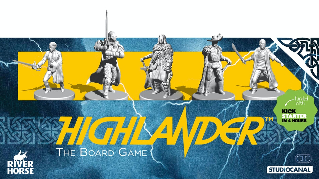 Highlander: The Board Game project video thumbnail