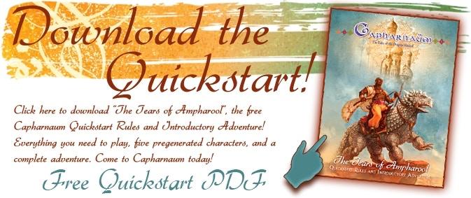Capharnaum - The Roleplaying Game by Sarah Newton — Kickstarter