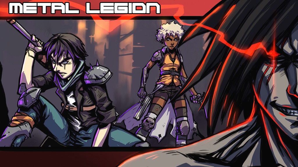 Metal Legion Issue 1 project video thumbnail