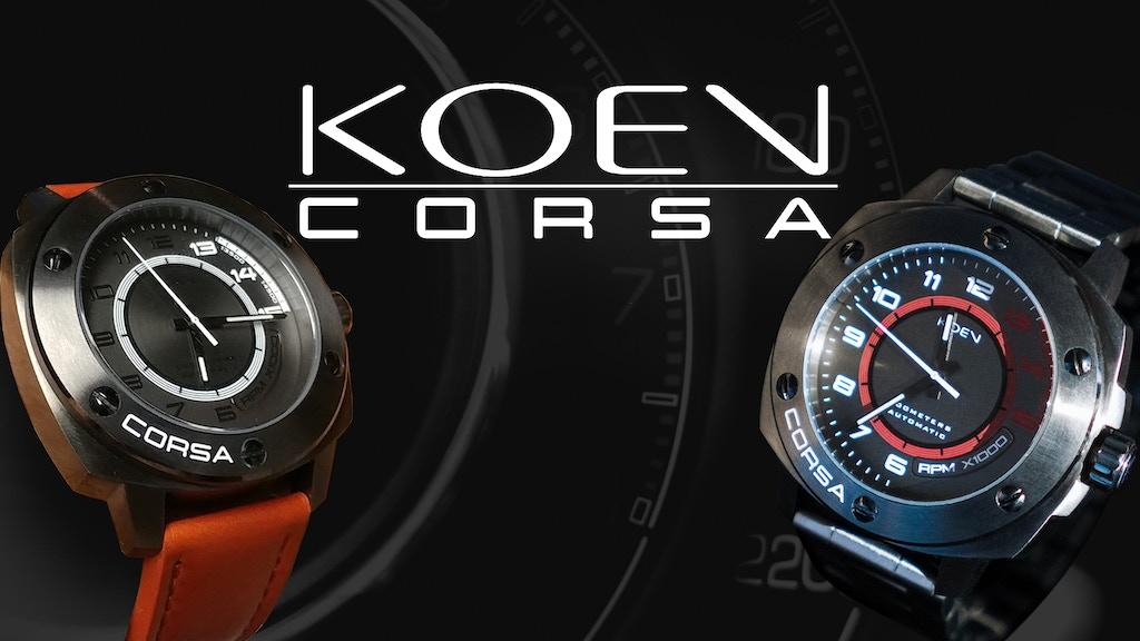 Koen Corsa - Custom Automotive Watches