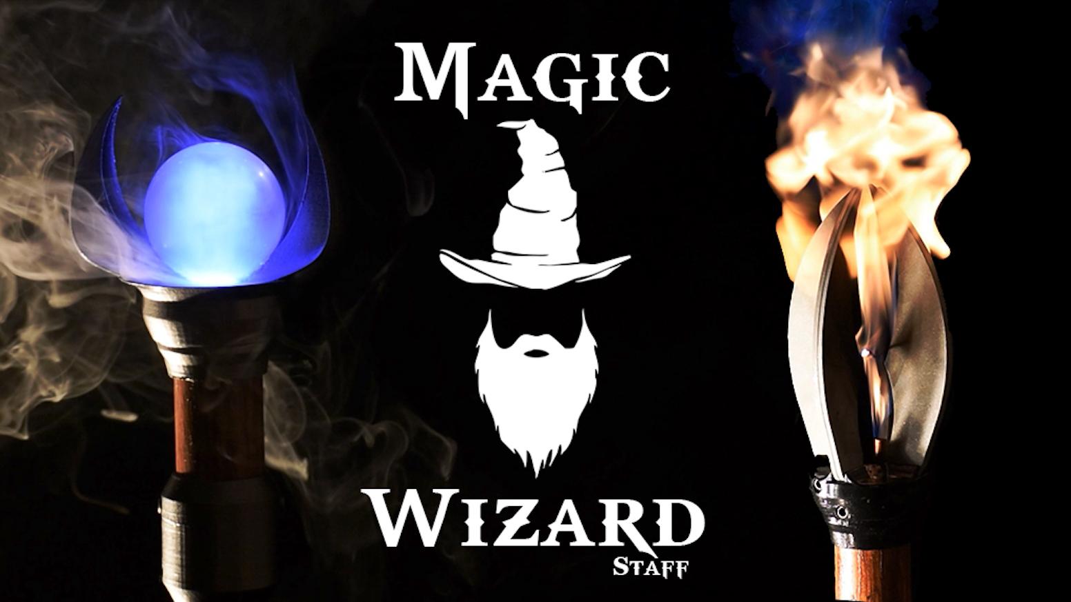 Magic Wizard Staff