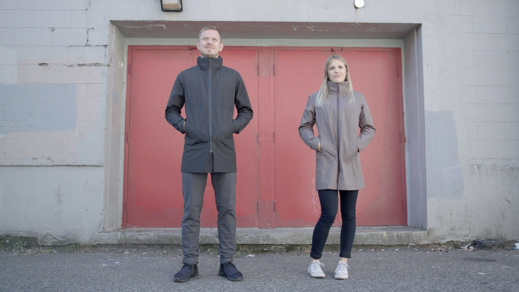PANTAVUS | Truly Versatile Jackets for Active Urban Life project video thumbnail