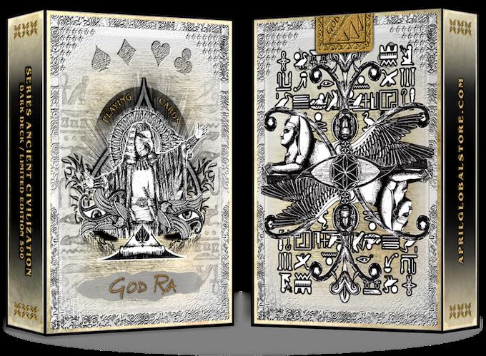 Edition sand color deck  \  GOD RA