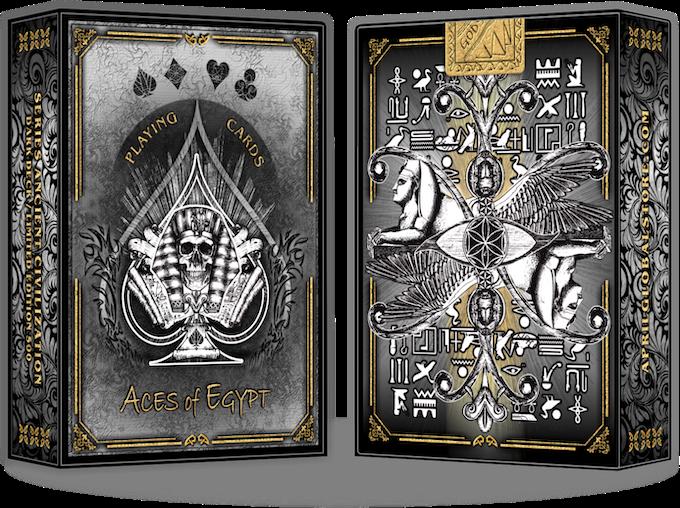Edition black deck  \  ACES of EGYPT