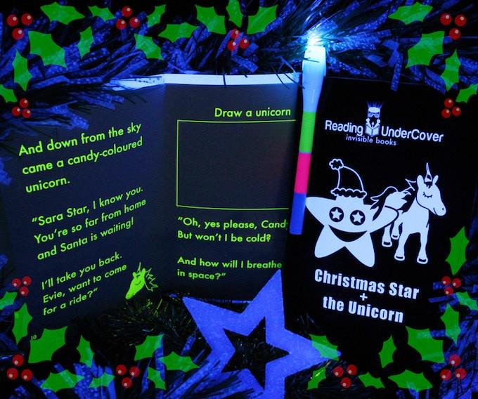 children's Christmas books on Kickstarter