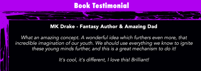 Children's Book Testimonial from Author & Dad