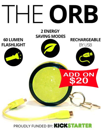Increase your pledge by $20 to get The Orb