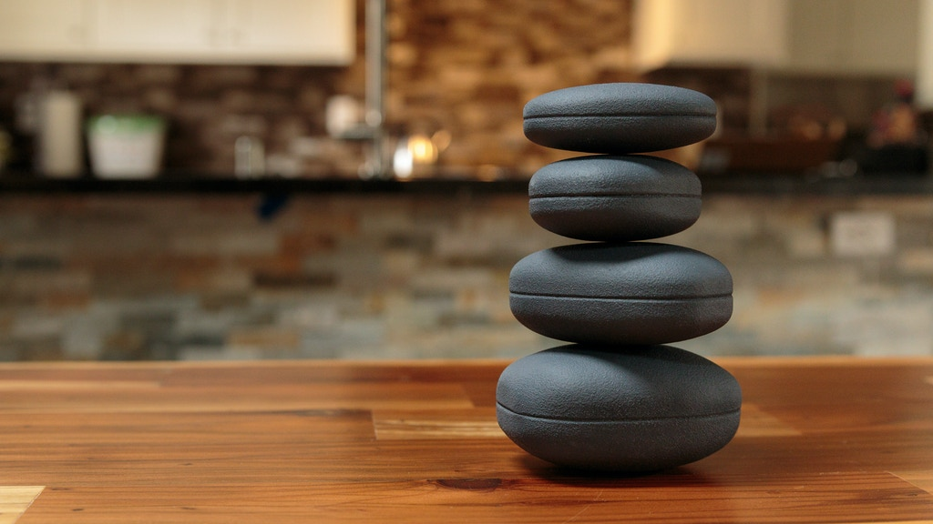 Concentrics: A rock balancing desk toy for mindfulness