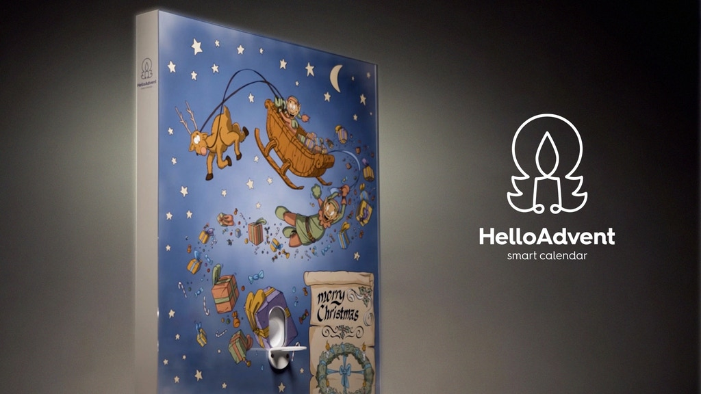 HelloAdvent Smart Calendar