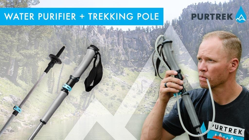 The World's FIRST Water Purifier & Trekking Pole | PURTREK project video thumbnail