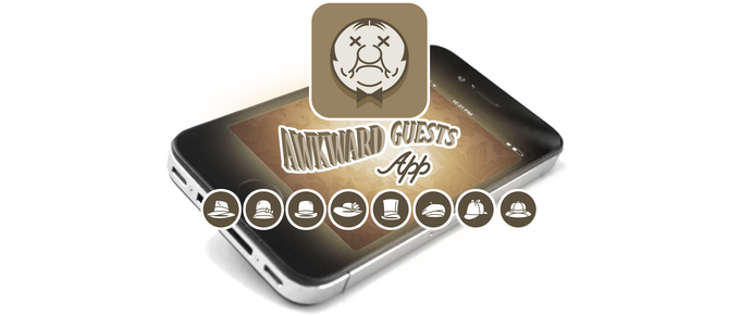 Awkward Guests Mobile App
