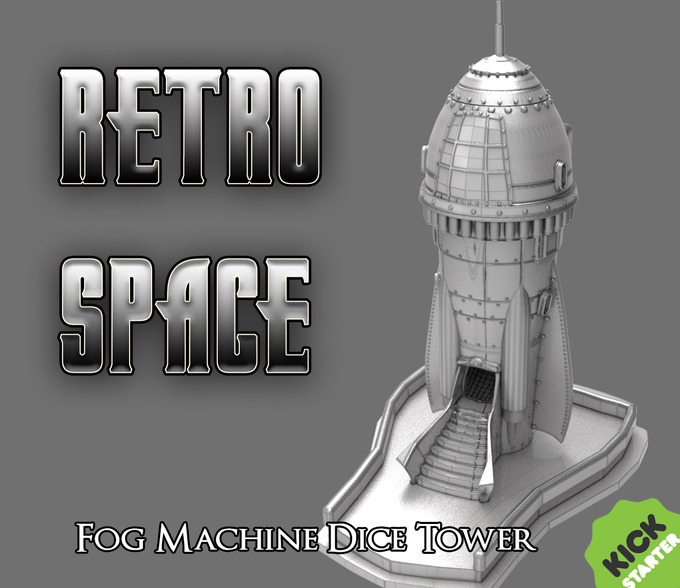 The Retro Space Dice Tower is Unlocked!