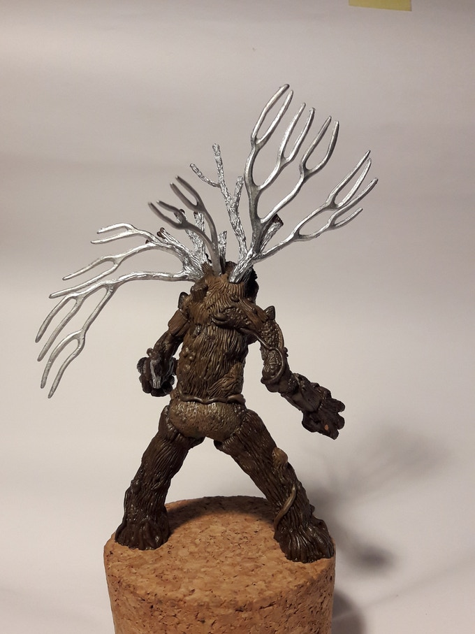 Treebrain the Treeman (rear View)