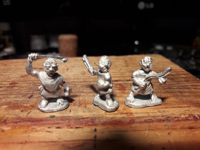 Halfling Militia Slingers