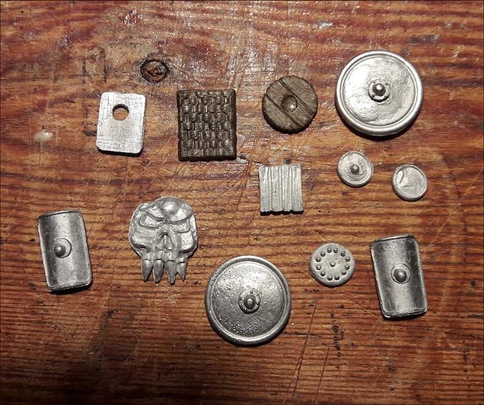 Some Shields for Sprue 2.
