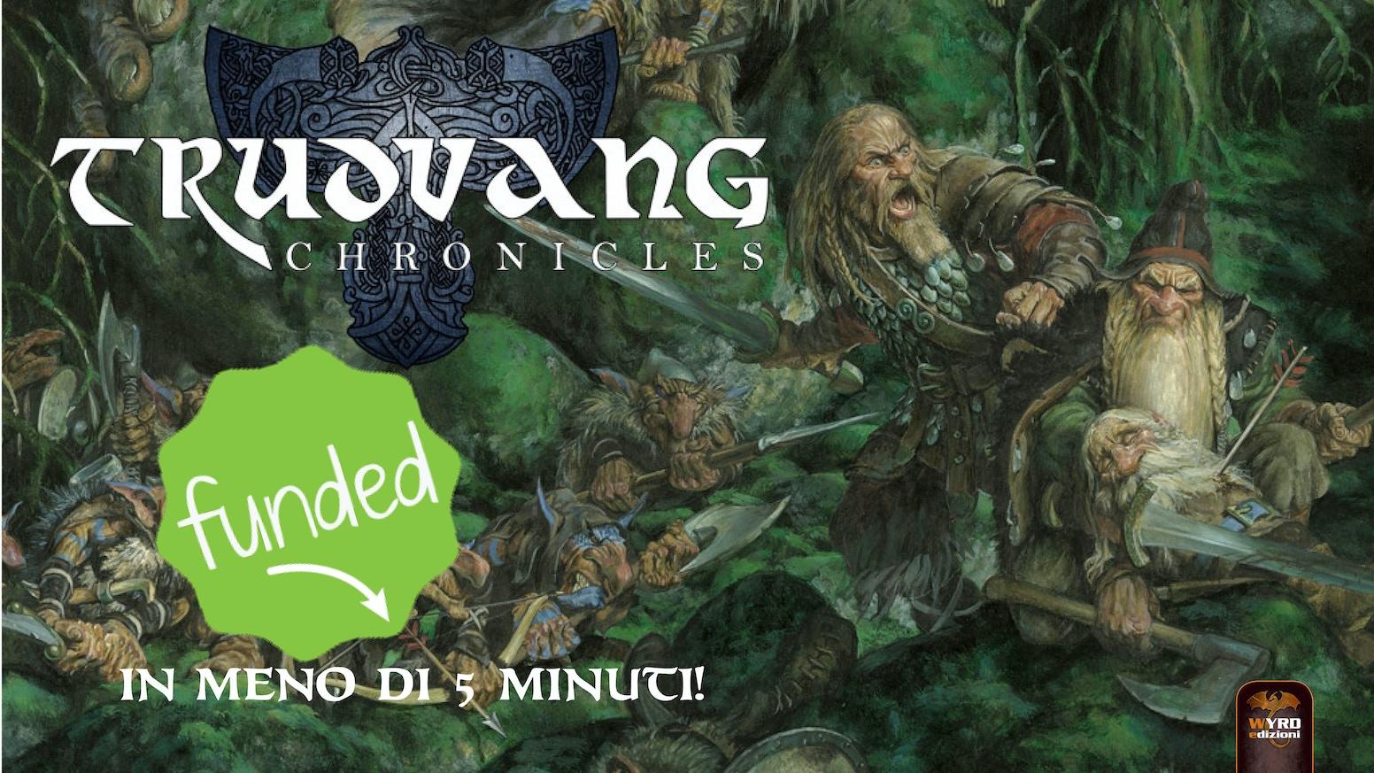 Ispiratevi alle terre e alle leggende norrene e tuffatevi nel mondo fantastico di Trudvang Chronicles insieme a noi.